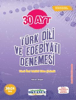 Ayt 30 Türk Dili Ve Edebiyatı Denemesi
