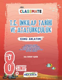 8. Sınıf Classmate T.c. İnkılap Tarihi Ve Atatürkçülük Konu Anlatımı