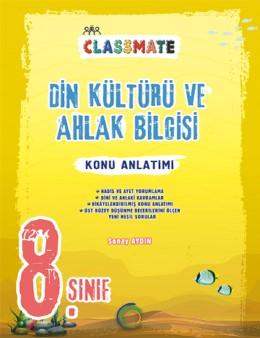 8. Sınıf Classmate Din Kültürü Ve Ahlak Bilgisi Konu Anlatımı