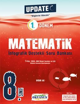 8. Sınıf Update 1. Dönem İnfografik Destekli Matematik Soru Bankası