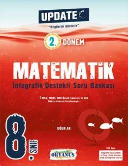 8. Sınıf Update 2. Dönem İnfografik Destekli Matematik Soru Bankası