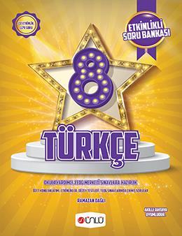 8. Sınıf Ünlü Türkçe Etkinlikli Soru Bankası