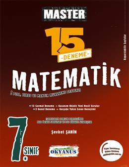 7. Sınıf Master 15 Matematik Denemesi
