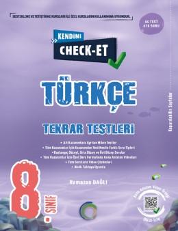 8. Sınıf Kendini Check - Et Türkçe Soru Bankası
