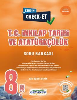 8. Sınıf Kendini Check - Et İnkılap Tarihi Ve Atatürkçülük Soru Bankası
