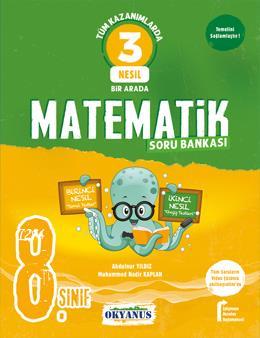 8. Sınıf 3 Nesil Matematik Soru Bankası