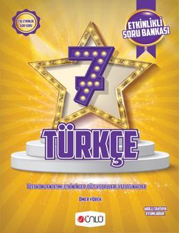 7. Sınıf Türkçe Etkinlikli Soru Bankası