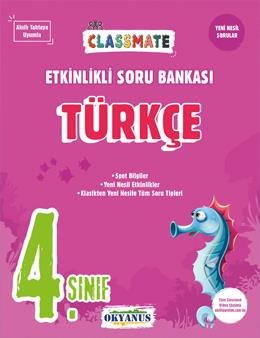 4. Sınıf Classmate Türkçe Etkinlikli Soru Bankası