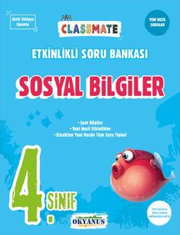 4. Sınıf Classmate Sosyal Bilgiler Etkinlikli Soru Bankası