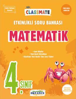 4. Sınıf Classmate Matematik Etkinlikli Soru Bankası