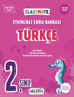 2. Sınıf Classmate Türkçe Etkinlikli Soru Bankası
