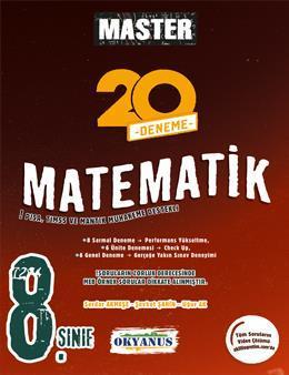 8. Sınıf Master 20 Matematik Denemesi