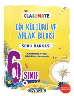 6. Sınıf Classmate Din Kültür Ve Ahlak Bilgisi Soru Bankası